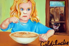 Goldilocks Illustration