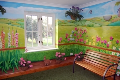 Care home Mural