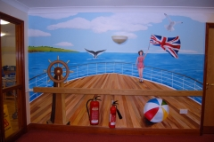 Care home Mural Deck