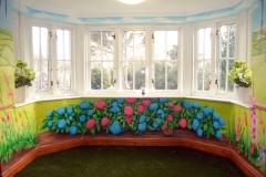 Care home Mural Garden