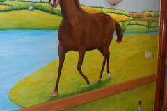 Care home Mural Horse