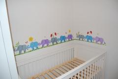 Baby's Cot Mural