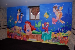 Little Mermaid Mural