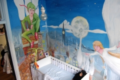 Peter and Wendy Mural