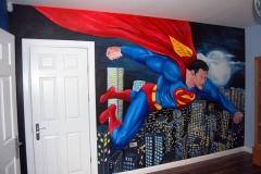 Superman Mural
