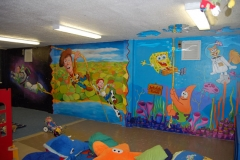 Toystory Mural