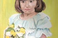 Portrait of Bridesmaid